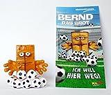 Bernd das Brot bekannt vom KiKa. Mit Beipackzettel. Von der Firma Meister Marken