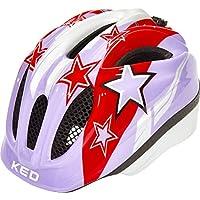 KED Meggy II Helmet Kids Green Stars 2018 Fahrradhelm