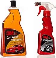 3M Car Shampoo (1L) & 3M Tyre Dresser (250ml) Combo Pack