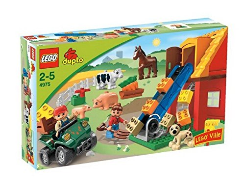 LEGO Duplo 4975 - Kleiner Bauernhof (Lego City Bauernhof-tiere)