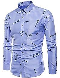 OHQ Camisa para Hombre Camiseta De Degradado para Hombre Arriba Camiseta Manga Corta Camiseta Plaid Gradient Color Blusa Tops Casual Chaleco Transpirable C/óModo