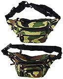 2er Pack Bauchtaschen Camouflage (AA)