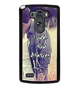 PrintVisa Designer Back Case Cover for LG G3 :: LG G3 Dual LTE :: LG G3 D855 D850 D851 D852 (wife husband students lovers boys)