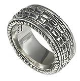 Baldessarini Sterling Silber Herren gemustert Designer Ring Y2033R/90/00/