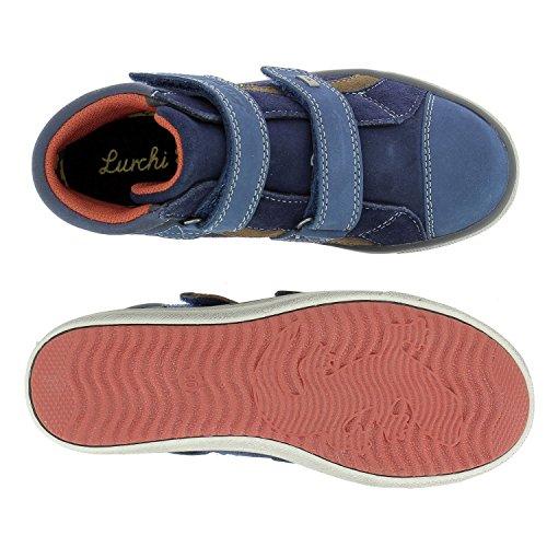 Lurchi 33-13778/22, Bottes pour Garçon Bleu Marine
