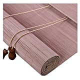 PENGFEI Tenda A Rullo Bamboo Tapparella Cortina di bambù Casa Balcone Soggiorno Partizione Ventilazione, 3 Colori, Personalizzazione delle Taglie (Colore : B, Dimensioni : 120X180CM)