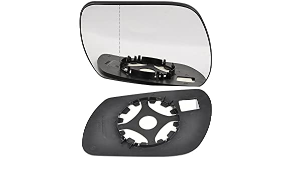 passenger side wing door clip mirror glass Heated # AuAud//A01-2010576//590 Left hand