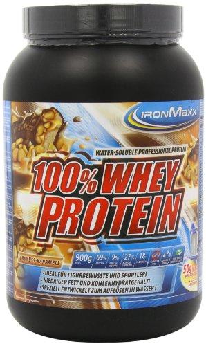 Ironmaxx 100% Whey Protein Erdnuss-Karamell