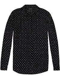 Maison Scotch Blusenshirt mit All-Over-Muster Damen Bluse NEU