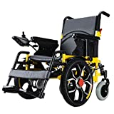 ENVIGF Foldable Electric Power Wheelchair, Front-Wheel Drive Power Chair,Lightweight Electric Wheelchair Portable Medical Scooter For Disabled And Elderly Mobility