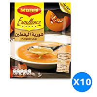 Maggi Excellence Pumpkin Soup, 65 gm - Pack of 10
