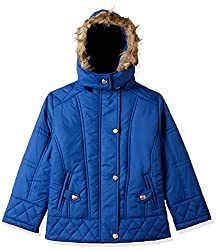 Qube By Fort Collins Girls Jacket (51356 fa_Air Force_28(8 - 9 years))