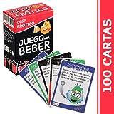 Glop Erotico - Juegos para Beber - Juego de Beber para Fiestas - 100 Cartas