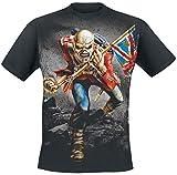 Iron Maiden The Trooper Camiseta Negro XL