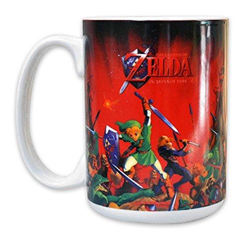 La Leggenda di Zelda Mug 'Ocarina of Time 3D' Lotta