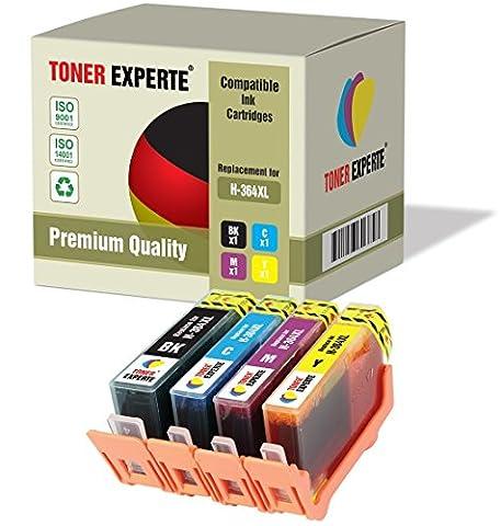 Pack 4 XL TONER EXPERTE® Cartouches d'encre compatibles pour HP