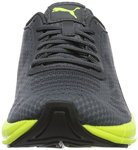 Puma Meteor, Chaussures de Running Compétition Homme Gris (Asphalt-puma Black-safety Yellow 06)