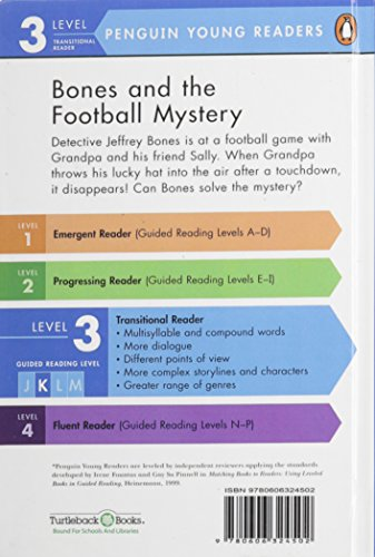 Bones and the Football Mystery (Penguin Young Readers, Level 3 Transitional Reader)