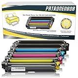 5er Pack Patronenbob® XL Toner kompatibel zu Brother TN-242 TN-246 für Brother HL-3142 CW HL-3152 HL-3172 DCP-9017 CDW DCP-9022 MFC-9142 CDN MFC-9332 MFC-9342 Schwarz je 2.500 Seiten, Color je 2.200 Seiten