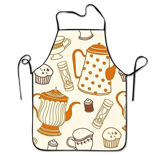 Pillow Hats Kissen Hüte Fashion winfin Sexy Schürze Nahaufnahmen der Teekanne Küche Schürze für Herren Freundinnen Geschenke