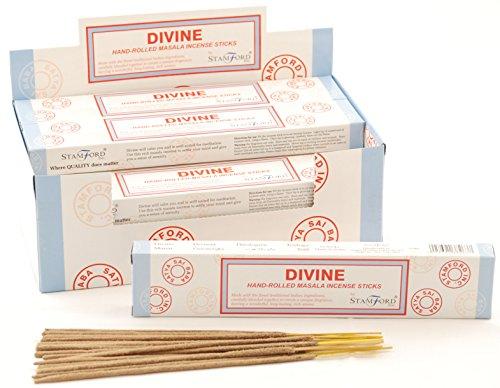 Stamford Divine Lot de bâtonnets d'encens