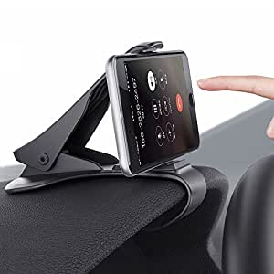 """Sumbay Support de Téléphone pour Voiture Support Auto Fixation Puissante pour Les Smartphone de 3.0""""- 6.5"""" iPhone 7 7Plus 6s 6s Plus 6 6 Plus,Nokia,Wiko,Huawei,Xiaomi,HTC,Sony et d'autres Appareils"""