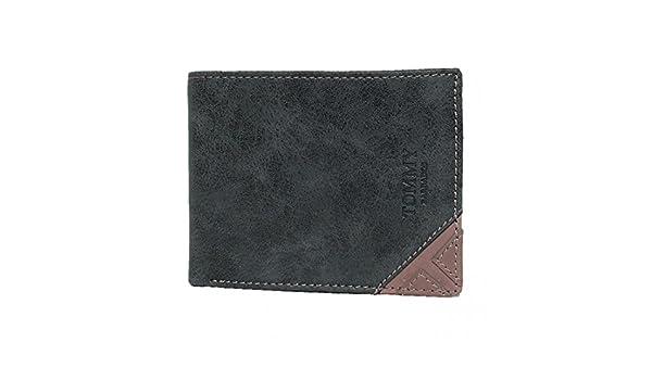c2f8b3ec72 Portafoglio uomo TOMMY BARBADOS Nero in pelle con patta 8635-248:  Amazon.it: Abbigliamento