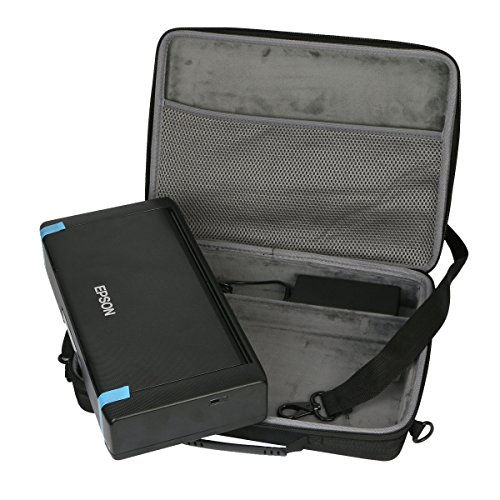 Hard custodia Borse Viaggio per Epson Workforce WF-100W Stampante Portatile Inkjet di co2CREA(travel case)