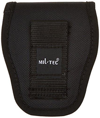 Mil-Tec Security - Funda de Esposas para cinturón, Color Negro