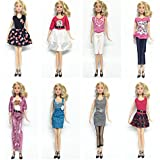 elegantstunning 3Pcs 5Pcs Handmade Casual Style Bobbi Doll Clothes Set  Elegant Dress for 11