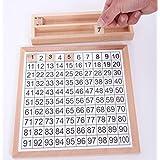 Gazechimp Jeux éducatifs Enfants Jouet de Construction équipement De Montessori Exercice Numéros
