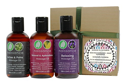 Naissance Massage Oil Favourites Gift Pack by Naissance