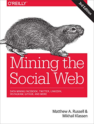 Mining the Social Web: Data Mining Facebook, Twitter, LinkedIn, Google+, GitHub, and More por Matthew Russell