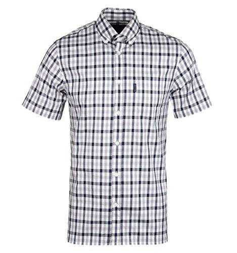 aquascutum-emsworth-short-sleeved-club-check-shirt-blue-small