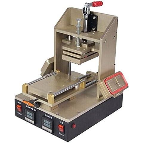 Nueva llegada GOWE 3-in-1 máquina marco removedor de pegamento separador Infratex laminación
