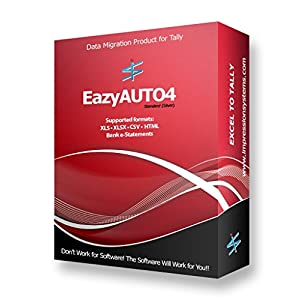EazyAUTO4 – Excel to Tally