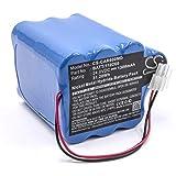 Batteria vhbw NiMH 1300mAh (24V) per Dispositivo ECG Cardioline Delta 60 ECG, Delta 60+ ECG, Delta 60Plus ECG sostituisce BATT/110260, 7741715.