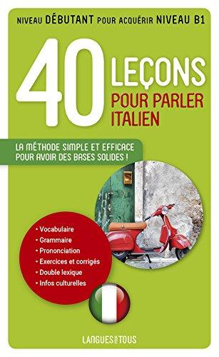 40 leçons pour parler italien par Paolo CIFARELLI