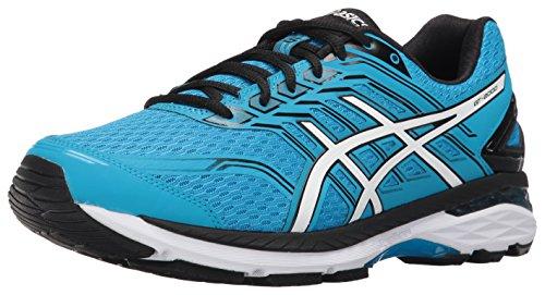 Preisvergleich Produktbild ASICS Men's GT-2000 5 Running Shoe,  Island Blue / White / Black,  15 M US