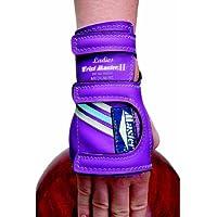 Master Industries Wrist Master II - Guantes de piel para bolos, tamaño mediano, mano izquierda