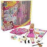 Barbie. Pink Envelope Puppe für Mädchen mit Geschenke