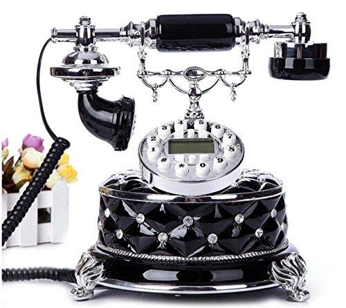 Xie High-end americano New telefono antico vintage europeo classico telefono fisso fisso bianco rosso (High End Telefoni Cordless)