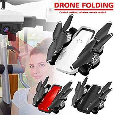 Bloomma Drone, 2.4G Foldable FPV Remote Control Drone 5MP Camera 360 Degree Rotation Gesture Video with Real Time Transmission Drone