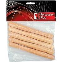 Percussion Plus pp674cencerro, baquetas (Pack de 5)