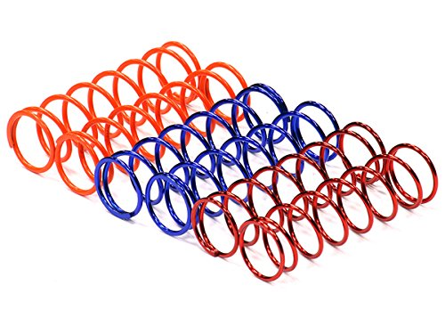 Integy RC Model Hop-ups C24590 Speed Tune Front Spring Set (6) for Axial 1/10 EXO Off-Road (Spring Axial)