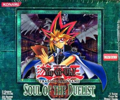 YuGiOh Soul of the Duelist Unlimited Booster Box [Toy] [Toy]