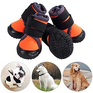 Informazioni:   Questo paio di stivali da compagnia fungerà da buon compagno per il tuo cane, proteggendo le sue zampe da ferite da marciapiedi, asfalto, erba tagliente, ecc.  La suola delle scarpe per cani è impermeabile, robusta, flessibile e anti...