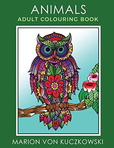 Animals: Adult Colouring Book