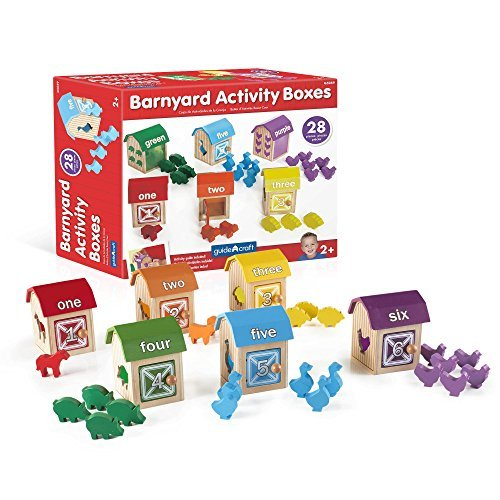 Guidecraft Barnyard Activity Boxes by Guidecraft