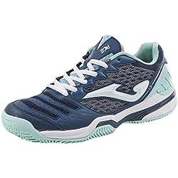 JOMA Ace Lady, Zapatillas de Tenis para Mujer, Azul (Navy), 38 EU